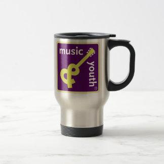 Music and Youth travel mug
