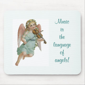 Music Angel Mouse Pad