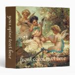 Music Angels by Hans Zatzka, Victorian Art Binder