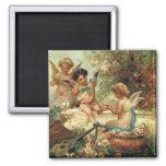 Music Angels by Hans Zatzka, Victorian Art Magnet