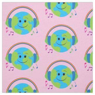Music Around the World Fabric