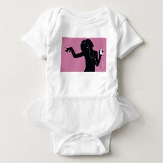 music baby bodysuit