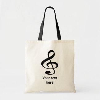 Music Budget Tote Bag