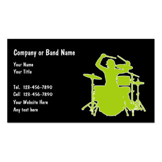 Band business cards 3000 business card templates for Band business cards
