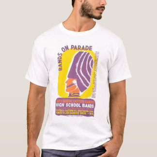 Music Band Parade 1940 WPA T-Shirt