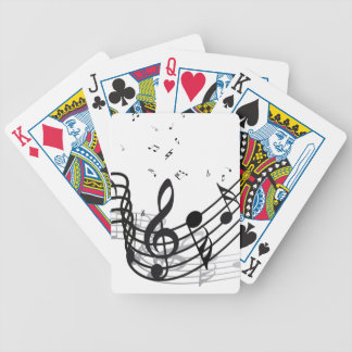 Music Bicycle Playing Cards