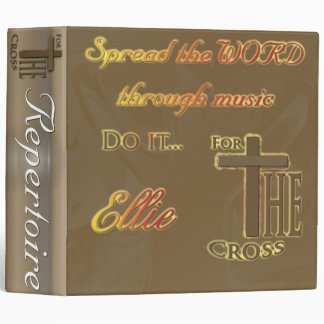 Music Binder for Ellie