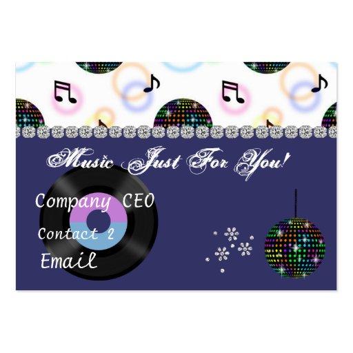Music  BLING Business Card