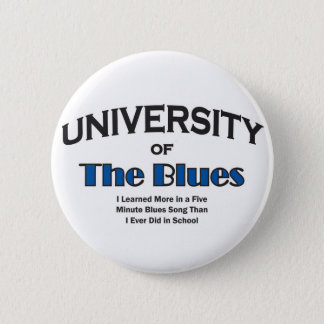music-blues 2 inch round button