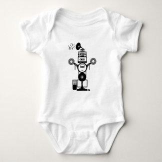 Music Bot Baby Bodysuit