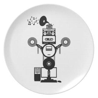 Music Bot Plate