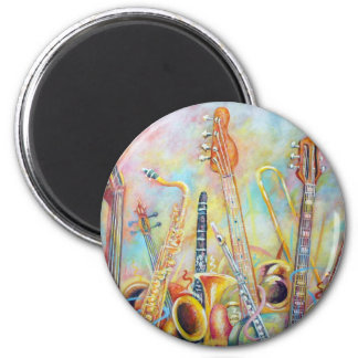 Music Bouquet Magnet