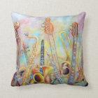 Music Bouquet pillow