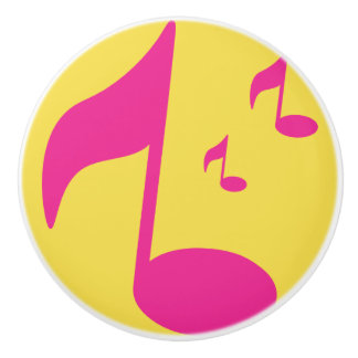 Music Boys & Girls Room Ceramic Knob