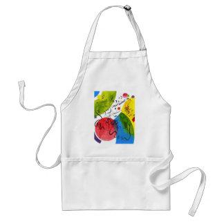 Music brush standard apron