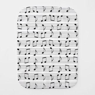 Music Burp Cloth