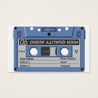 Music Business Card - Cassette