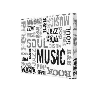 MUSIC Canvas