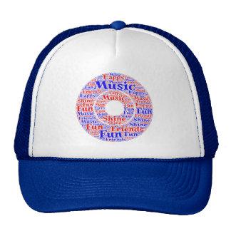 Music Cap Trucker Hat