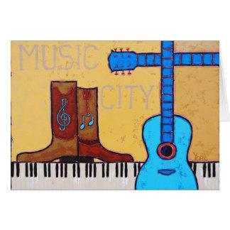 MUSIC CITY card