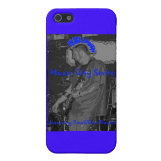 """""""Music City Smitty - Kountry Rawkstar"""" iPhone Case Cover For iPhone 5/5S"""