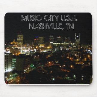 MUSIC CITY U.S.A.  NASHVILLE, TN - Mouse Pad