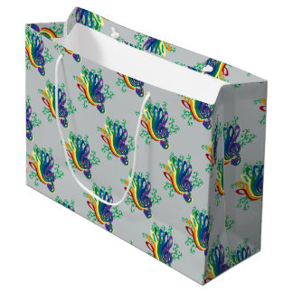 Music Clef Bouquet Large Gift Bag