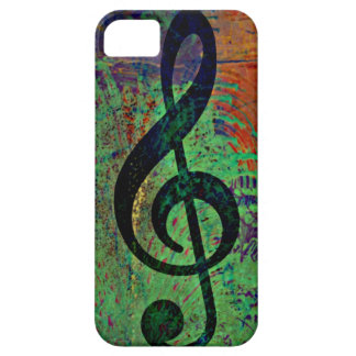 Music Clef Musically iPhone 5 Cover