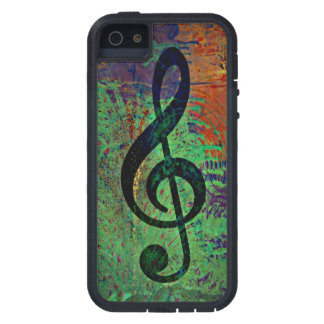 Music Clef Musically iPhone 5 Covers