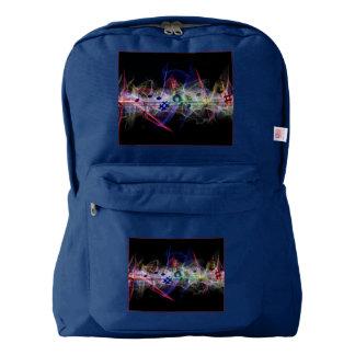 Music Clef Stylish Backpack