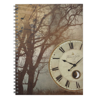 Music Clock and Tree Notebook