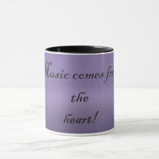 Music Comes From The Heart Mug