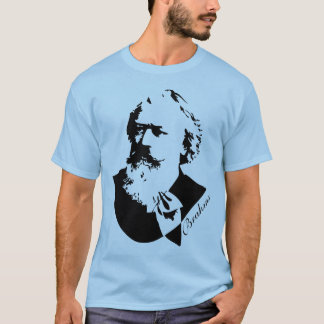 Music Composer Johannes Brahms Mens Tee