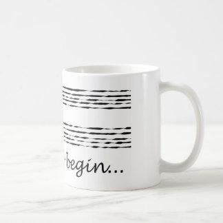 Music Composition Mug