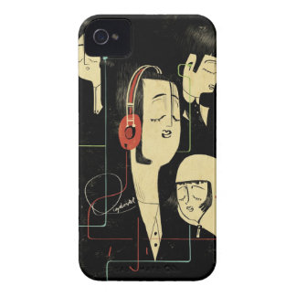 Music Connects People iPhone 4 Cover