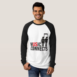 """Music Connects"" T-Shirt"