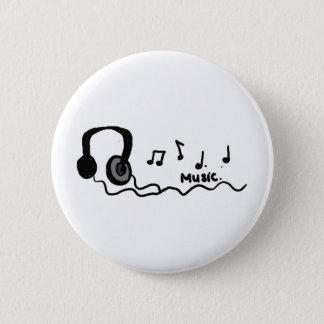 Music Cool Design! 2 Inch Round Button