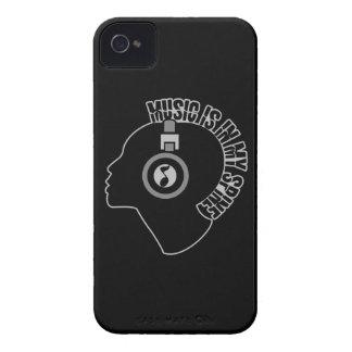 Music custom color iPhone case-mate iPhone 4 Case-Mate Case