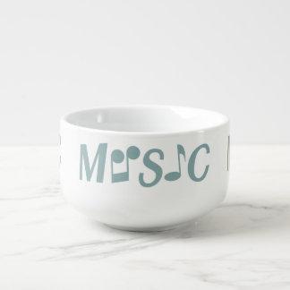 MUSIC custom soup mug