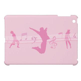 Music Dance and Drama Pink iPad Mini Covers