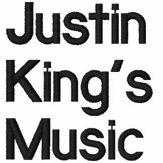 Music de Justin du Roi Sweatshirt À Capuche Brodé