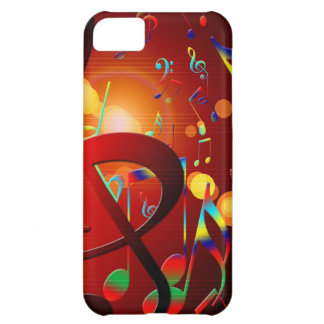 Music Destiny Song & Dance Notes Instruments Cover For iPhone 5C