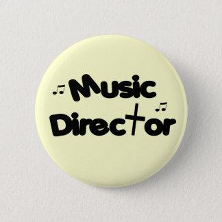 Music Director 2 Inch Round Button