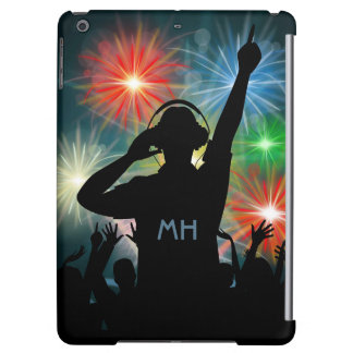 Music DJ custom monogram device cases iPad Air Covers
