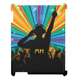 Music DJ custom monogram device cases iPad Case