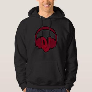 music DJ headphone Hoodies