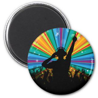 MUSIC DJ magnet
