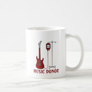 Music Donor Coffee Mug