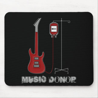 Music Donor Mouse Pad