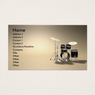 music_drums business card